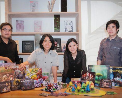 Siam Board Games Team Members